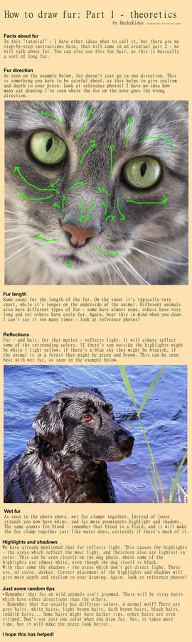 How to draw fur part 1 - theoretics