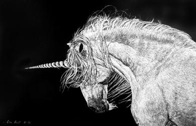 Unicorn III - Powerhorse by BeckyKidus