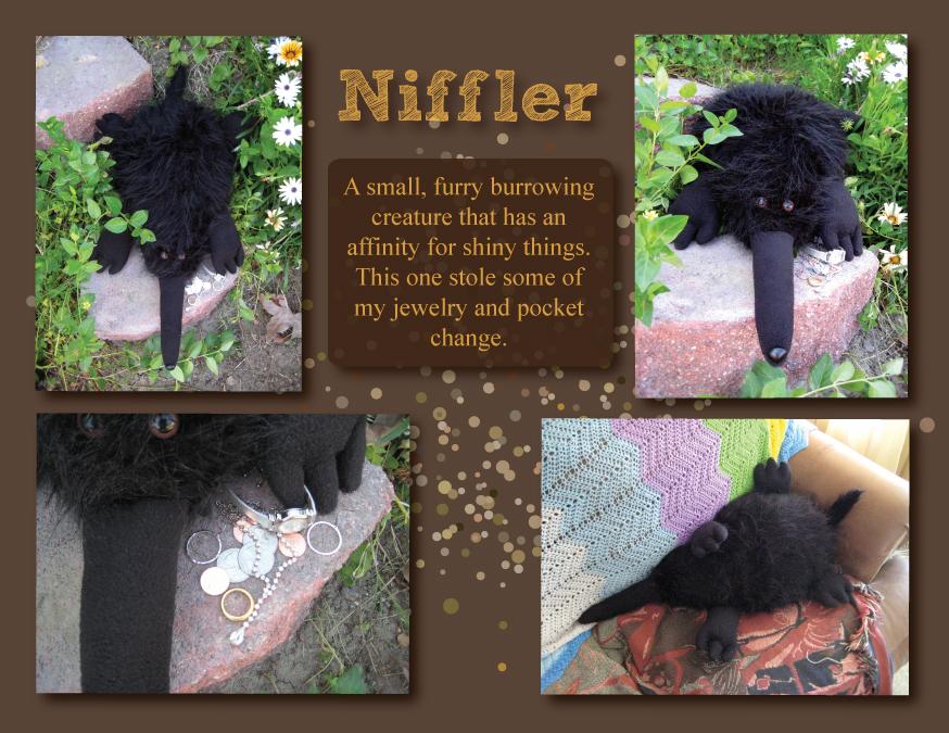 Niffler by Groovygirlsuzy17