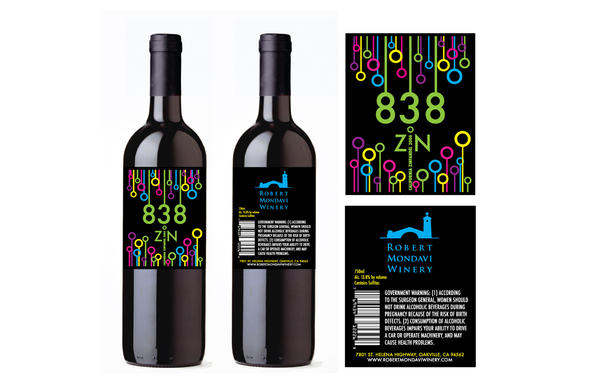 Wine Bottle Label 1 by Groovygirlsuzy17