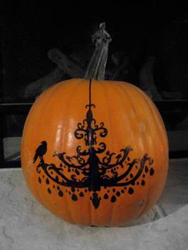 Chandelier Pumpkin