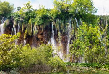 Where water falls by FiorellaDePietro