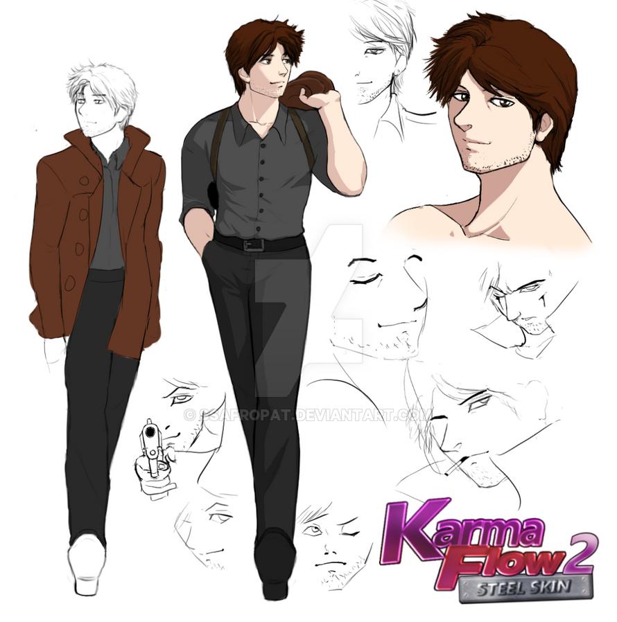 Karma Flow 2 - A.C. Concept Art #1 by SSAfroPat