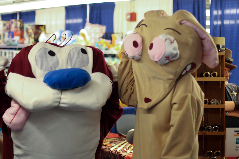 Ren and stimpy cosplay