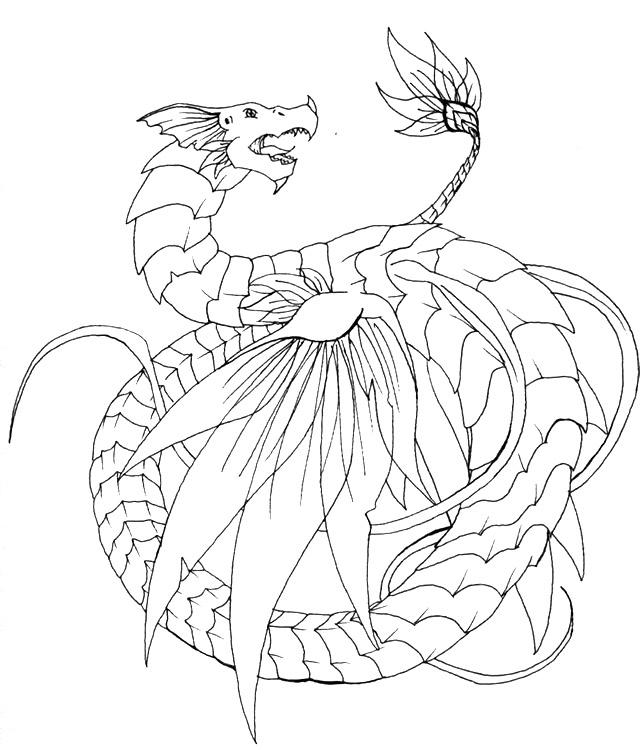 leviathan coloring pages - photo#13