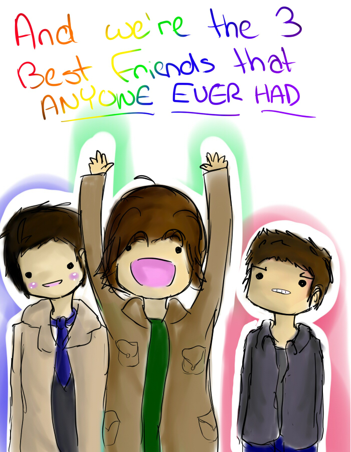 And We Re The 3 Best Friends By X0xnavix0x On Deviantart