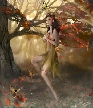 Autumn Whisperlings by enayla