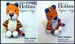 Toy Hobbes (Polymer Clay Figurine) by Yakkomia