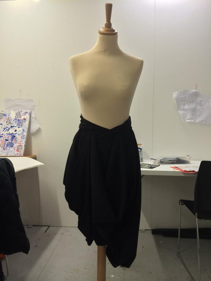 Formal Pin-up Girl Skirt by CastASlur