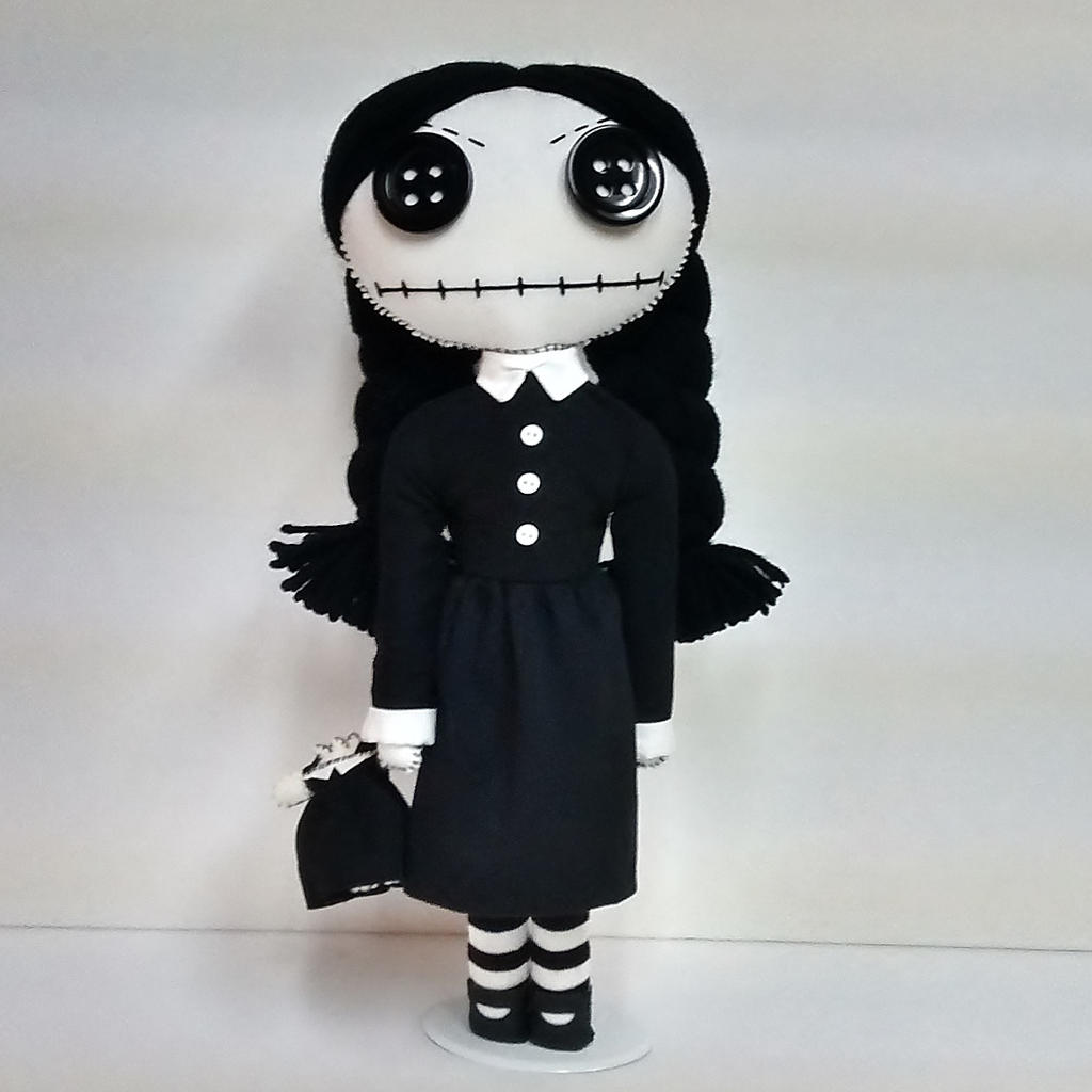 Wednesday Addams Doll