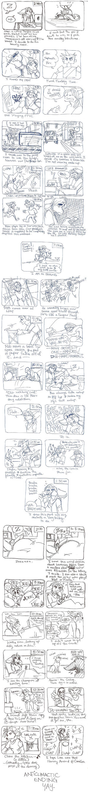 24 Hour Comic by MegSyv
