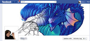 Dragon on my Facebook