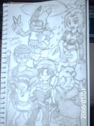 Dark Cloud Group Picture by LuckyBucket46