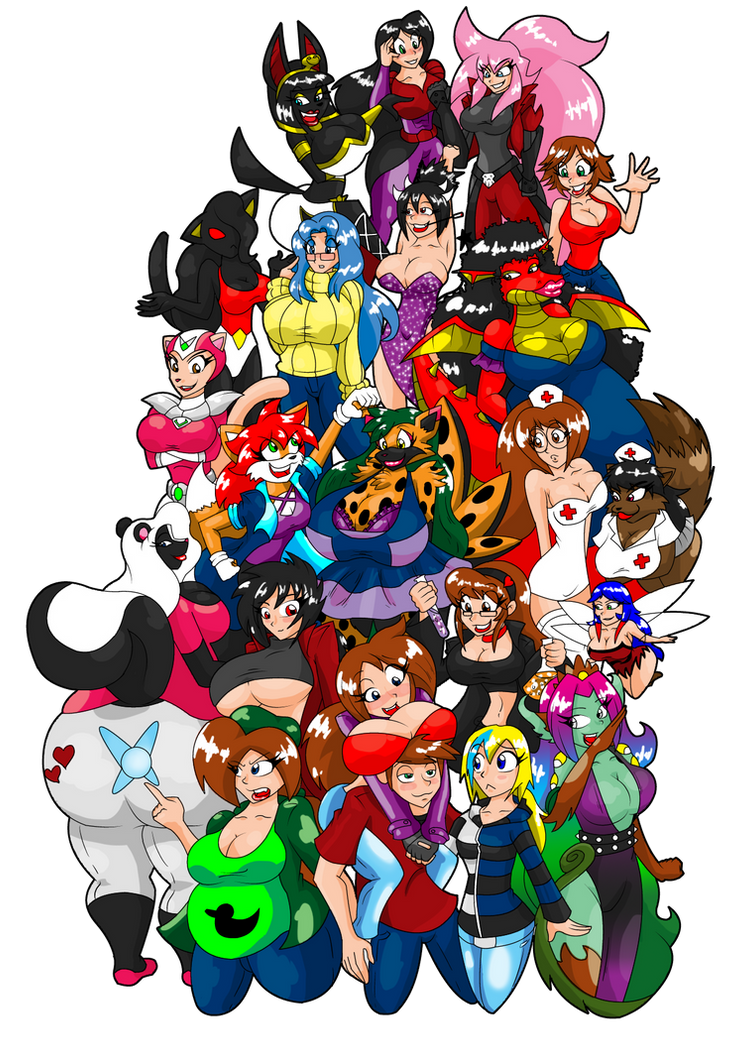 Group Friend Photo by LuckyBucket46