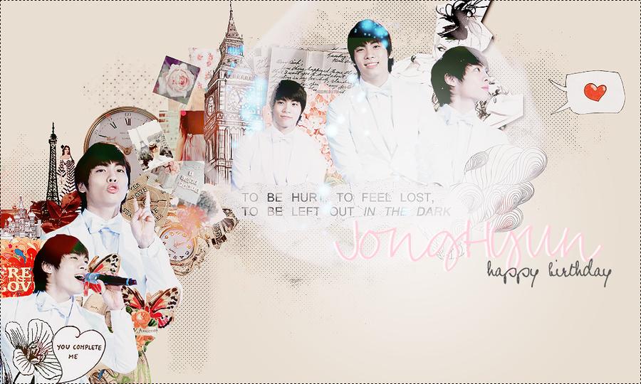 Jonghyun-Shinee by knockingoout