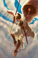 Athena Pallas by AlexeyRa