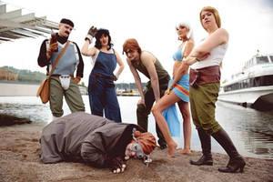 Atlantis Group Cosplay by NaruDossu