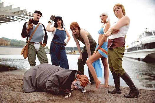 Atlantis Group Cosplay