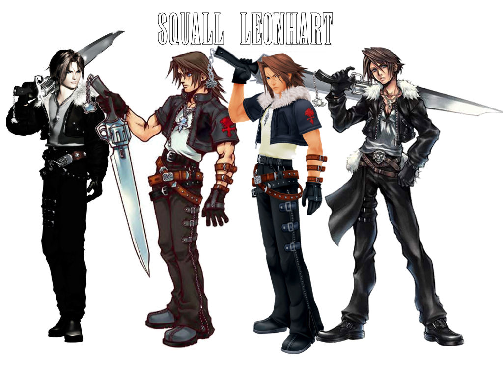 Final Fantasy VIII (ff8) Squall's Clothes