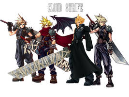 Cloud Strife by JocelynJEG