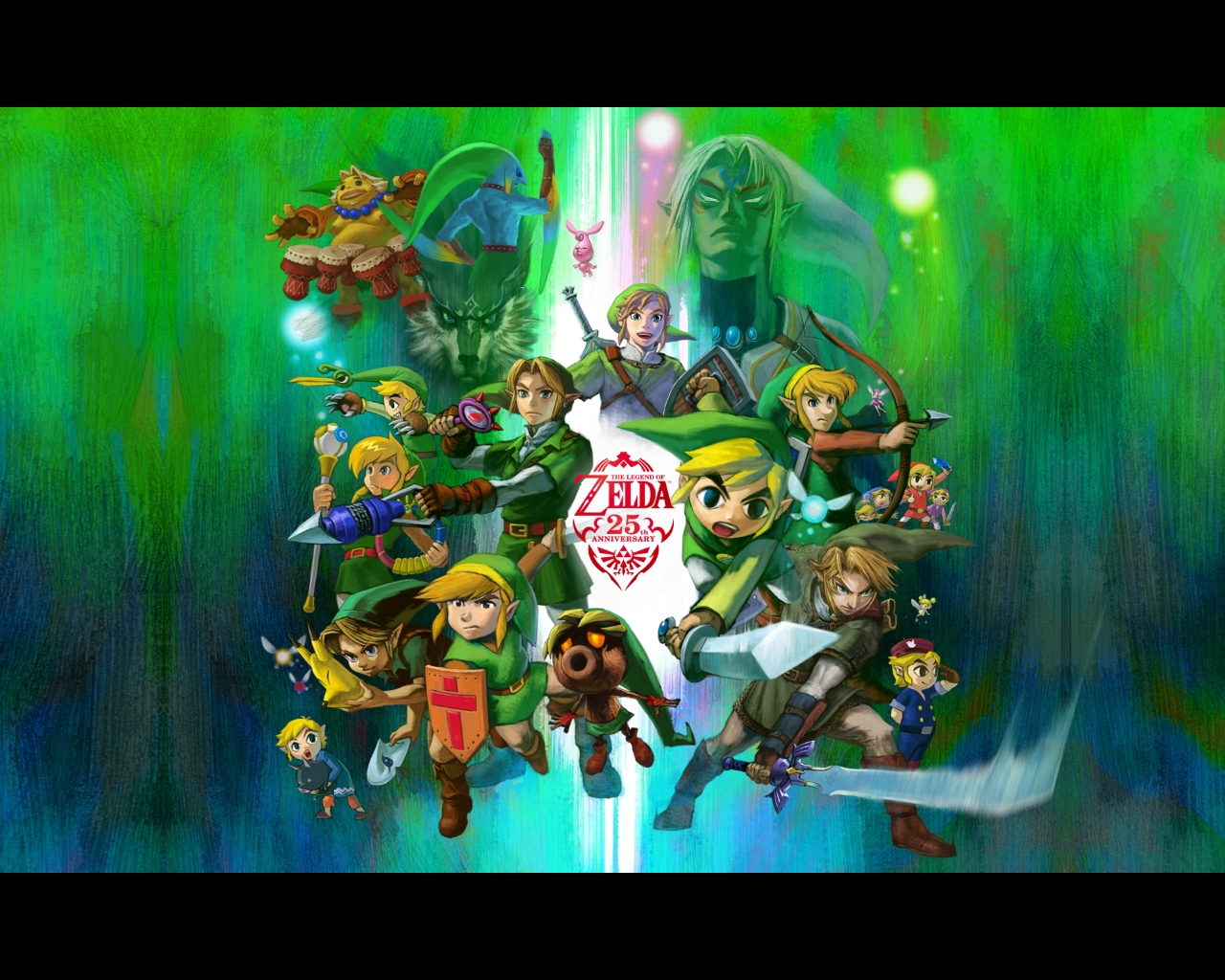 Group Of Zelda Wallpaper 25th