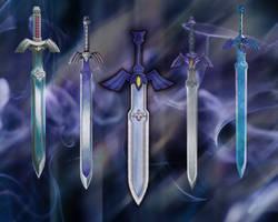 Master Swords by JocelynJEG