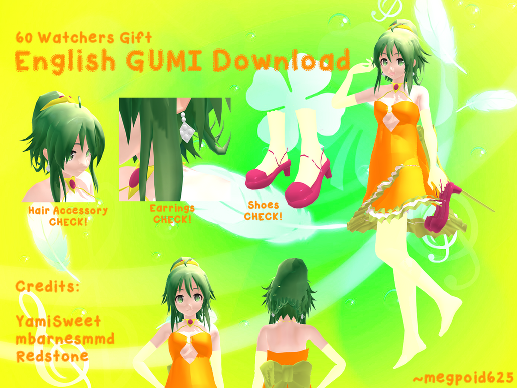 Mmd 60 watchers gift english gumi download by megpoid625 on mmd 60 watchers gift english gumi download by megpoid625 negle Image collections