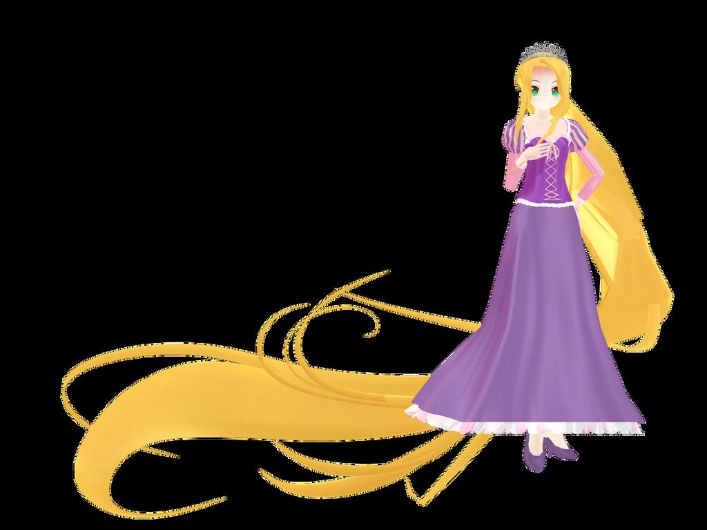 Rapunzel by RandomDraggon by megpoid625