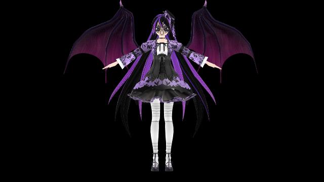 DT Halloween Miku [W.I.P] by megpoid625