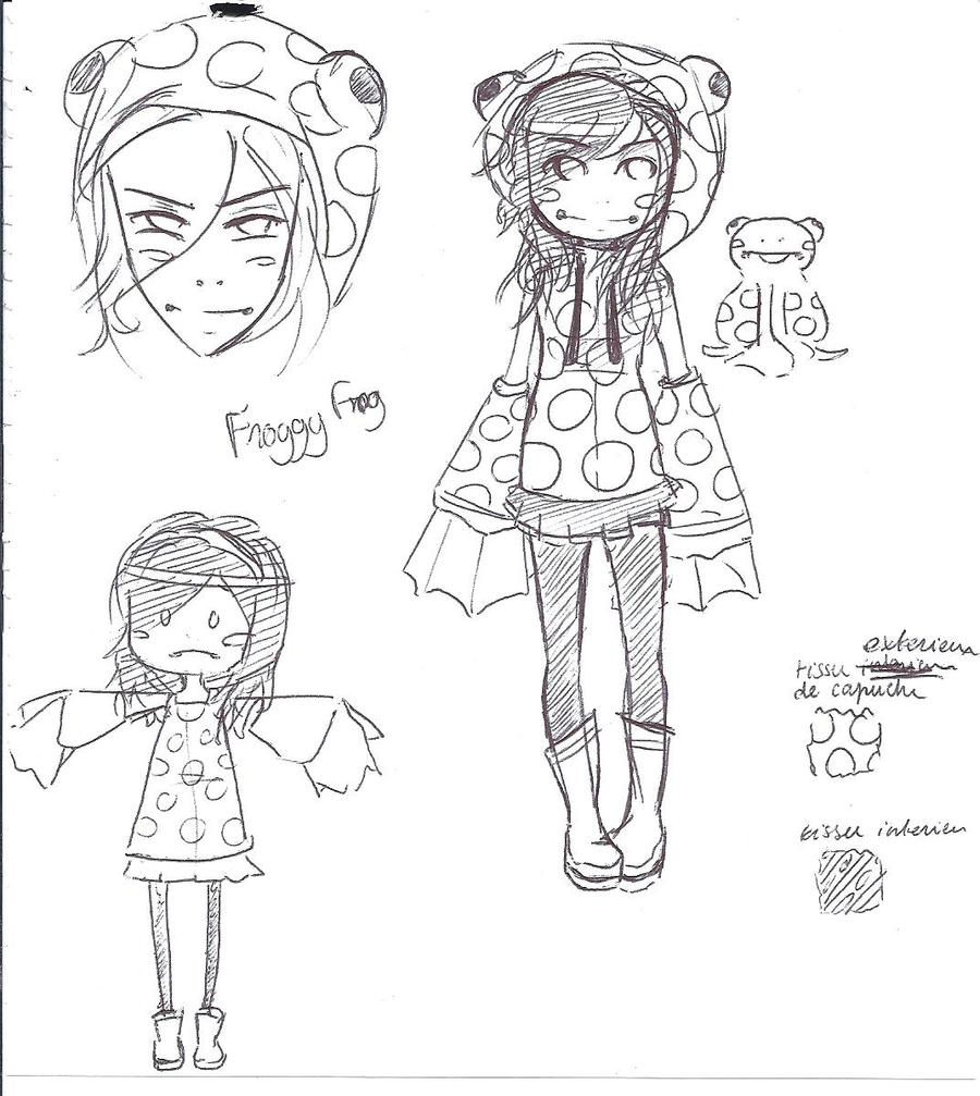 ~ Froggy Frog (because I love it) sketch ~ by lumiorah