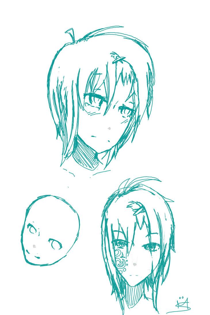 ~Sketch OC ~ by lumiorah
