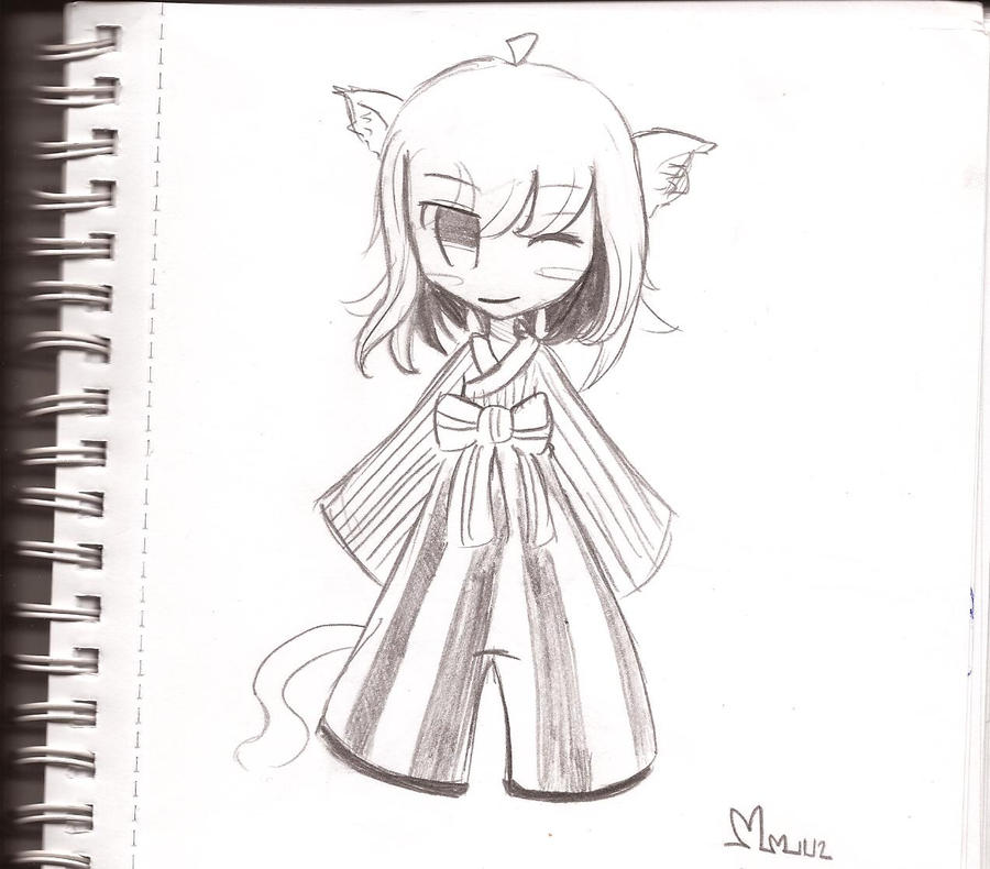 ~ Chibi Geisha girl ~ by lumiorah