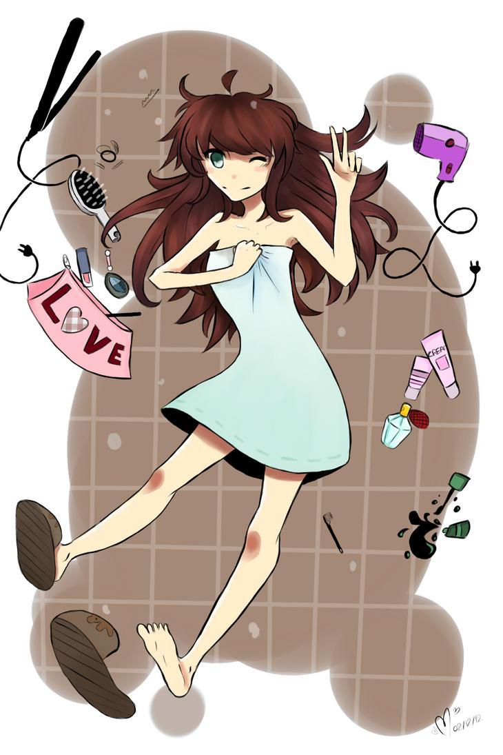 ~ Bathroom Girl ~ by lumiorah