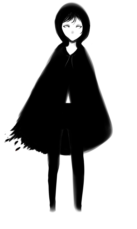.: The little black riding hood :. by lumiorah