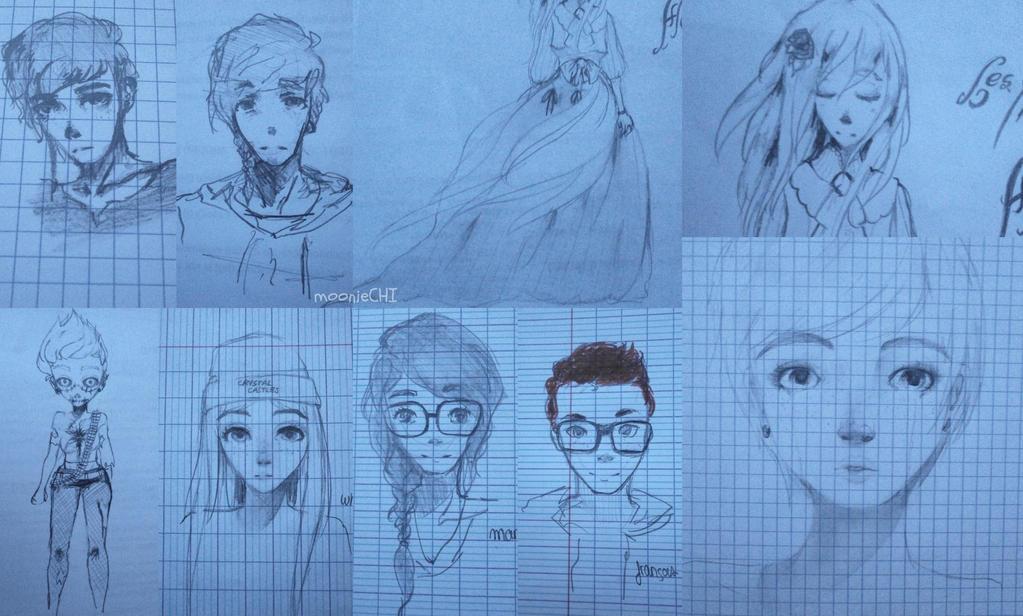 JUNE doodles by lumiorah