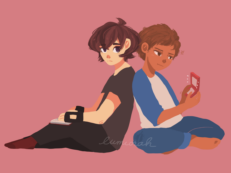 klance -- space gays by lumiorah