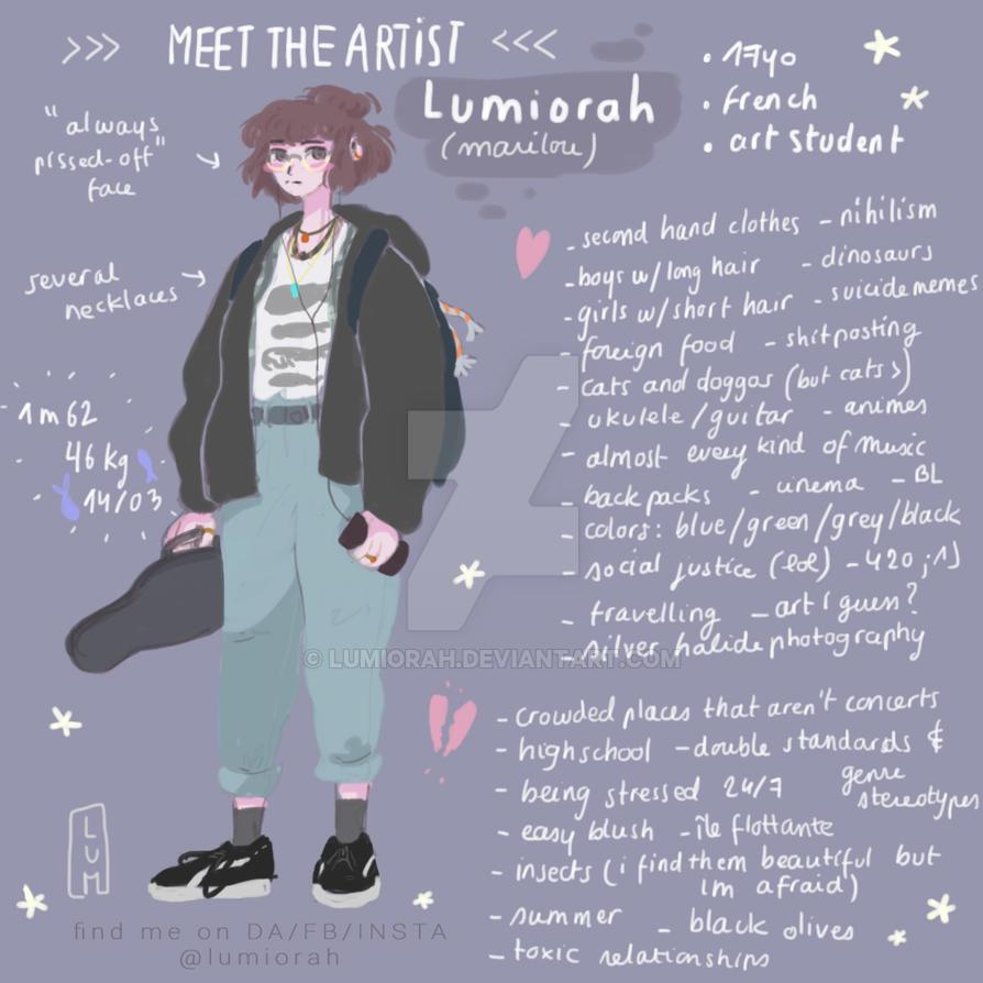 meet the artist // lumiorah by lumiorah