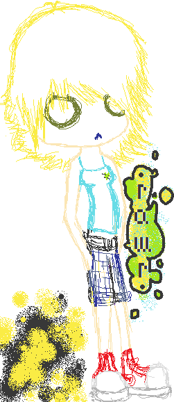 Another MS Paint drawing of me