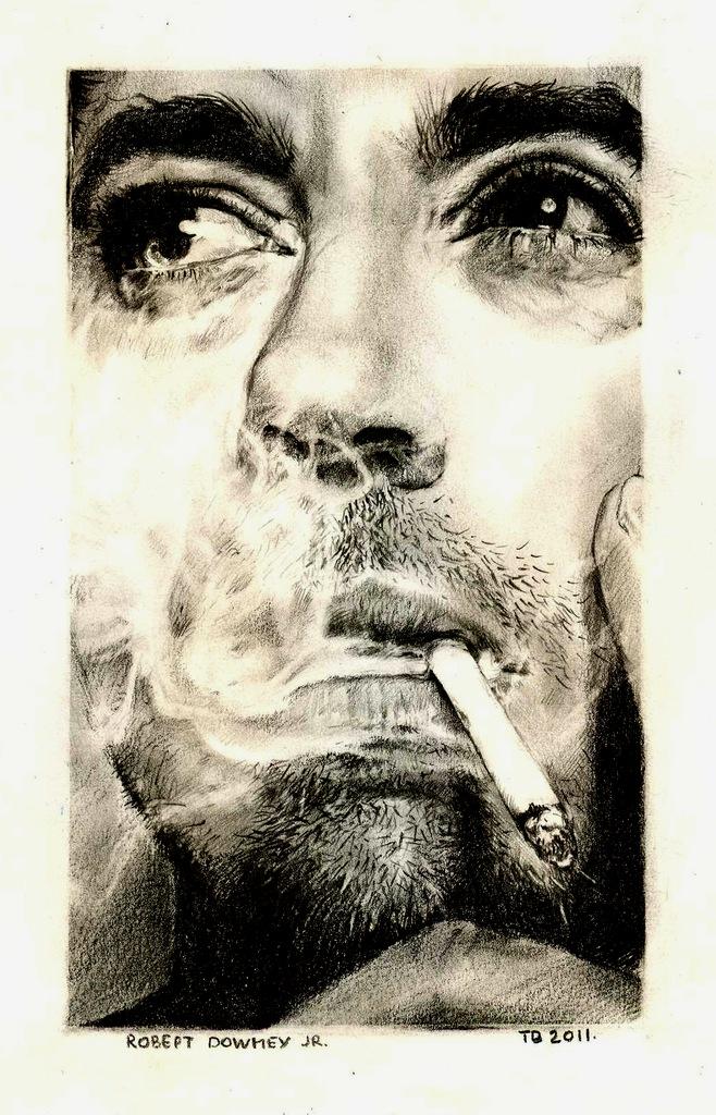 Robert Downey JR by taylorweaved