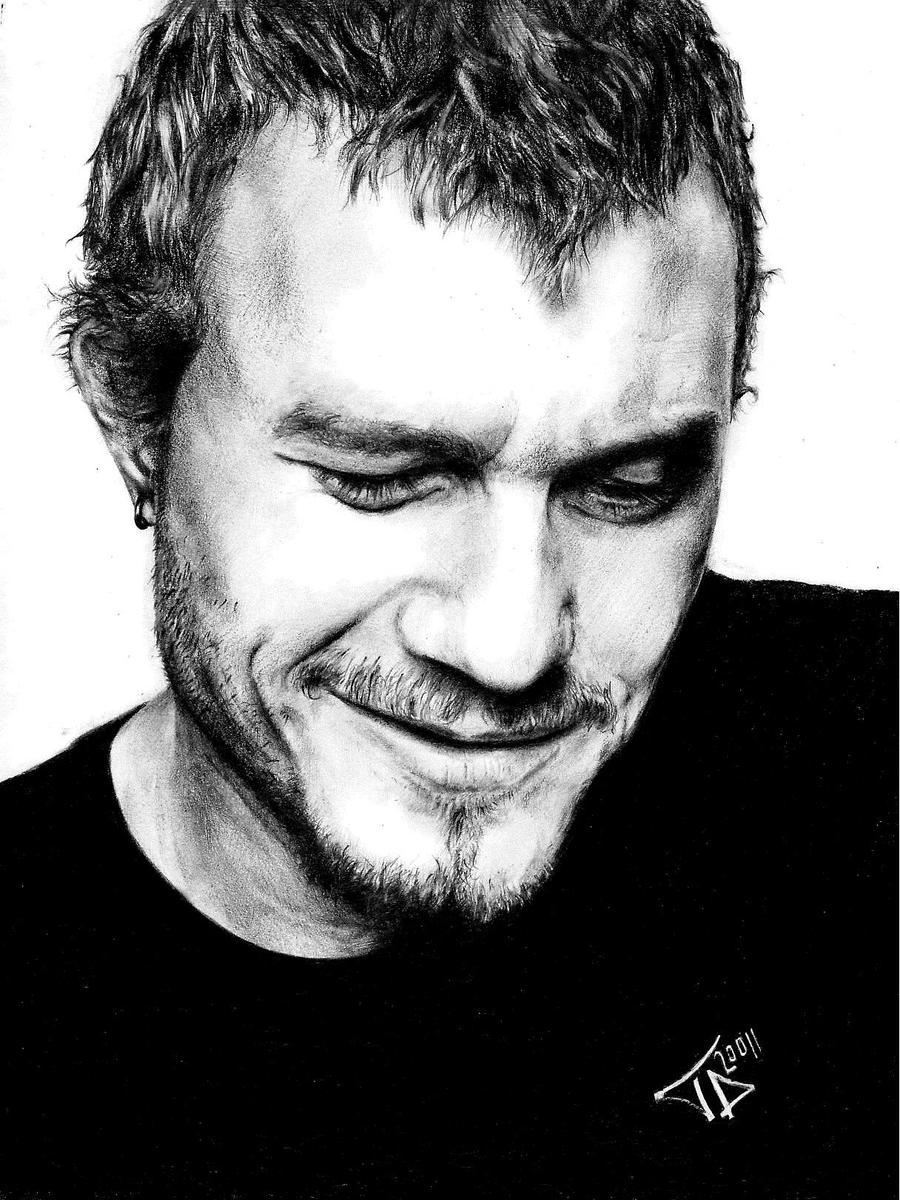 Heath Ledger by taylorweaved
