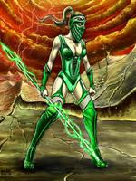 MK Jade (Colored ver.) by taylorweaved