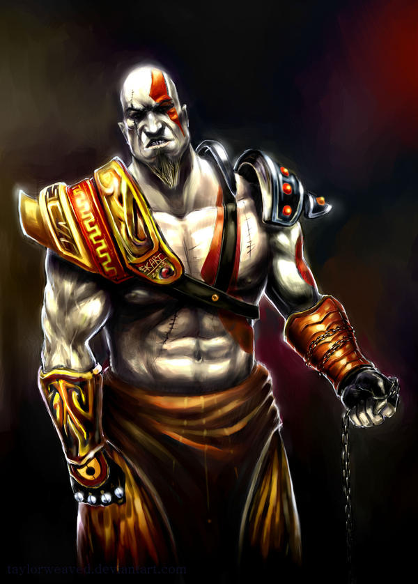 Kratos by taylorweaved