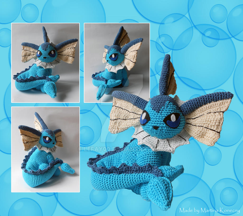 Vaporeon other view by LeFay00