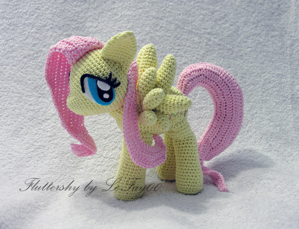 Fluttershy Amigurumi by LeFay00 on DeviantArt