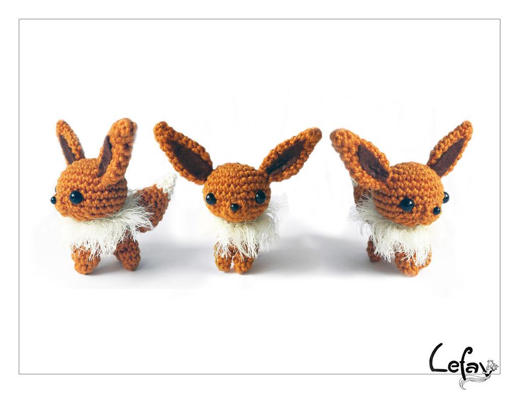 Pokemon Chibi Amigurumi Pattern : Chibi Eevee Amigurumi by LeFay00 on DeviantArt