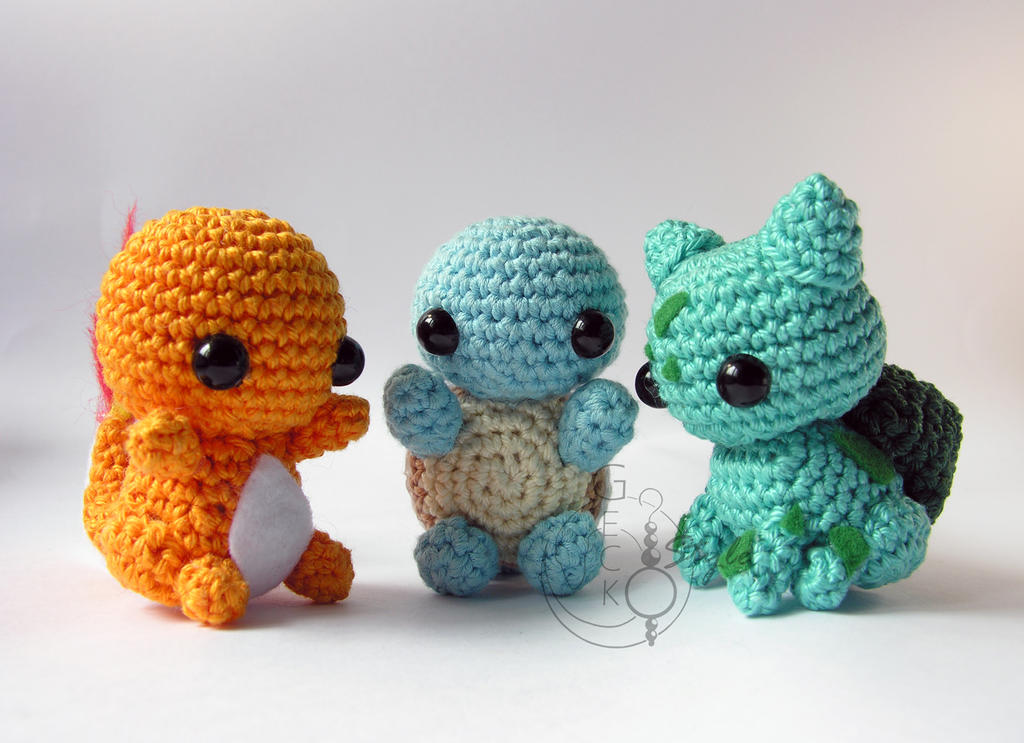 Amigurumi Chibi Doll Pattern Free : amigurumi favourites by molerskates on DeviantArt