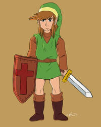 Hero of Hyrule by DGAnimation616