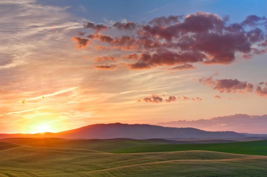 Palouse Sunset 5 by krovakny