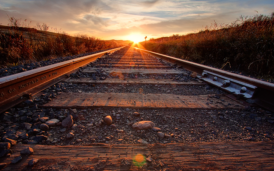 Rails' End 3 by krovakny