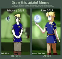 Draw This Again Meme by TheNaughtyFish